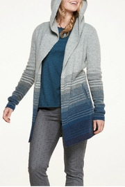 Toad & Co. Merino Open Hoodie - Front cropped