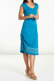 Toad & Co. Ruched Muse Dress - Front cropped