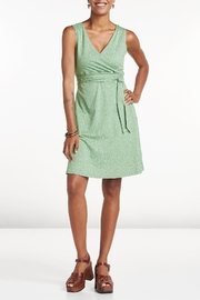 Toad & Co. Sleeveless Wrap Dress - Front cropped