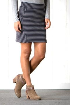 Toad & Co. Striped Transita Skirt - Product List Image