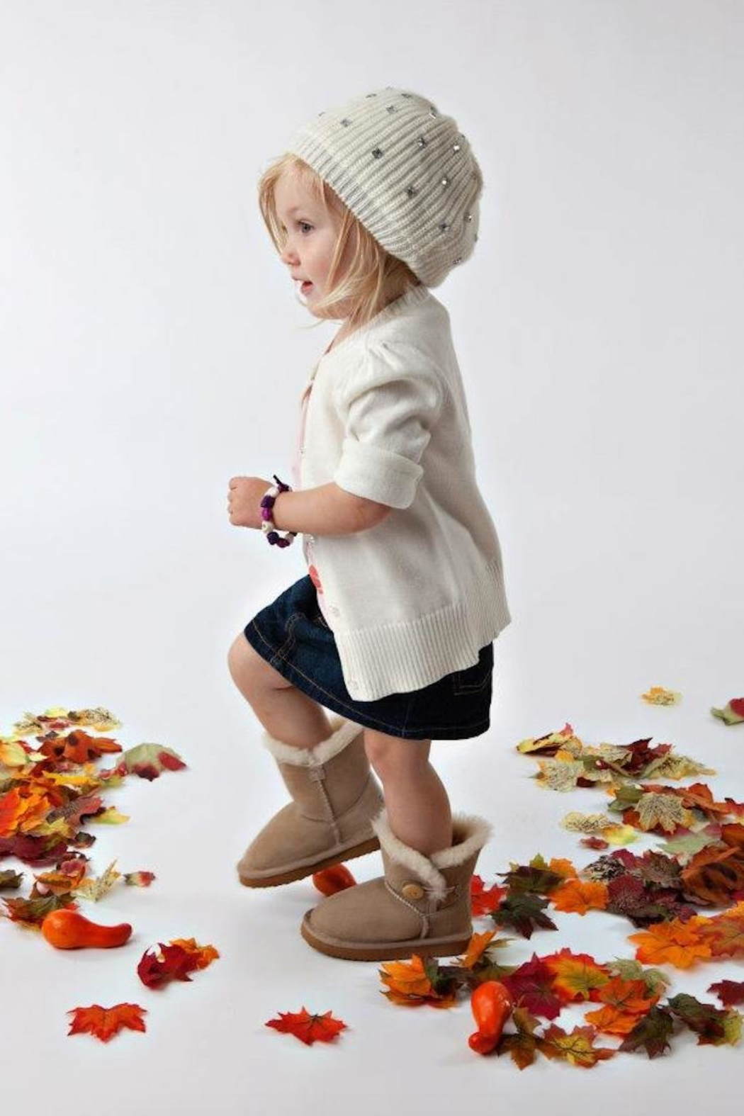 Desi's Boutique Toddler Boots - Front Cropped Image