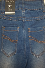 Nautica Toddler Denim Jegging - Front full body