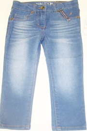 Nautica Toddler Denim Jegging - Front cropped