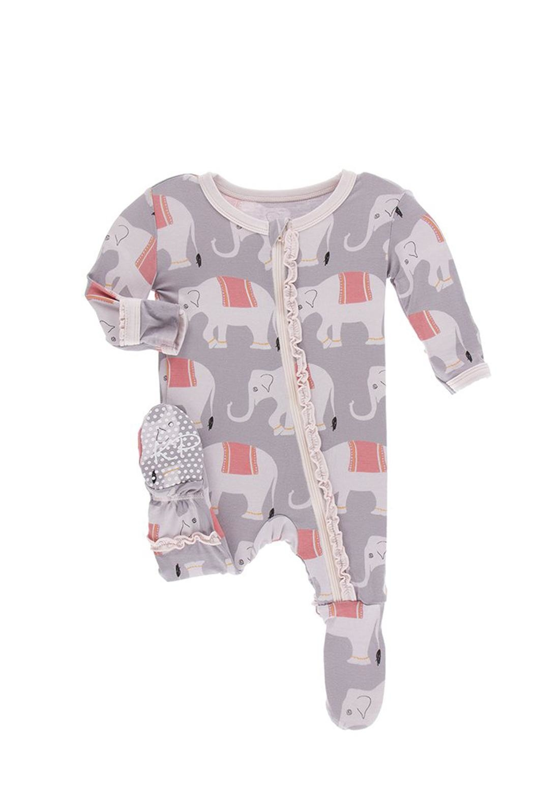 Kickee Pants Toddler Elephant Ruffle-Footie - Main Image