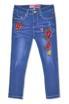 Cutie Patootie Toddler Embroidered Jeans - Alternate List Image