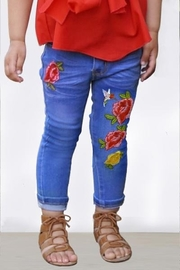 Cutie Patootie Toddler Embroidered Jeans - Front cropped