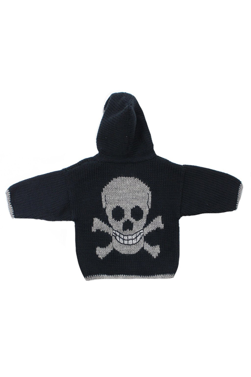 Artwalk Toddler Hooded Skull Sweater - Front Cropped Image