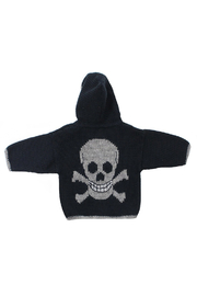 Artwalk Toddler Hooded Skull Sweater - Front cropped