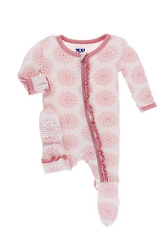 Shoptiques Product: Toddler Mandala Ruffle-Footie