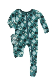 Kickee Pants Toddler Ornament Footie - Front cropped