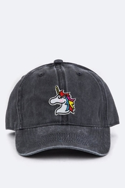 Pickles & Olive's Toddler Unicorn Hat - Front cropped