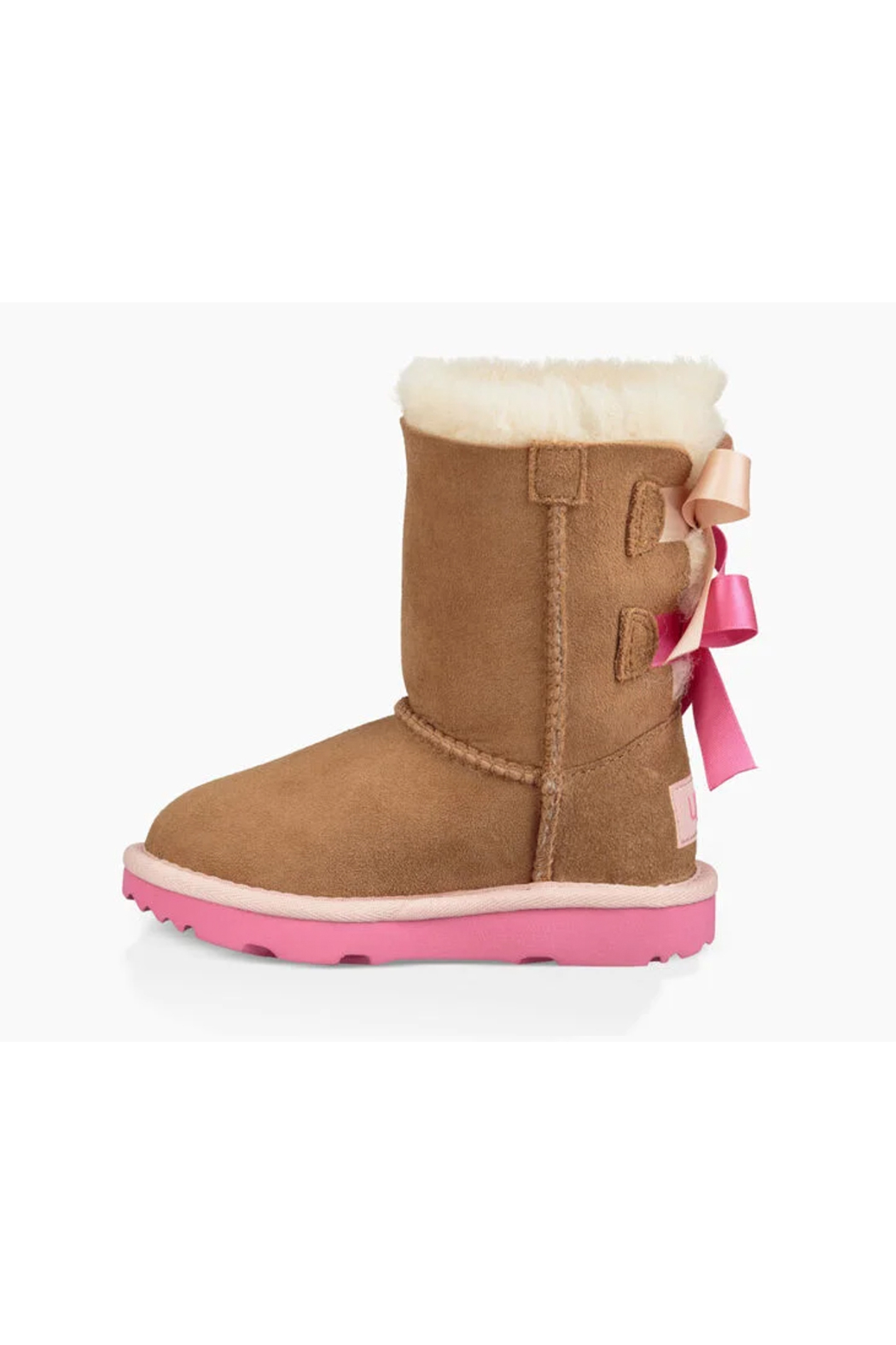 Ugg Toddlers Bailey Bow II Boot - Back Cropped Image