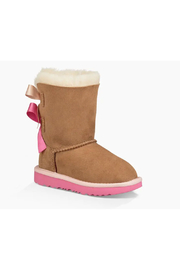 Ugg Toddlers Bailey Bow II Boot - Side cropped