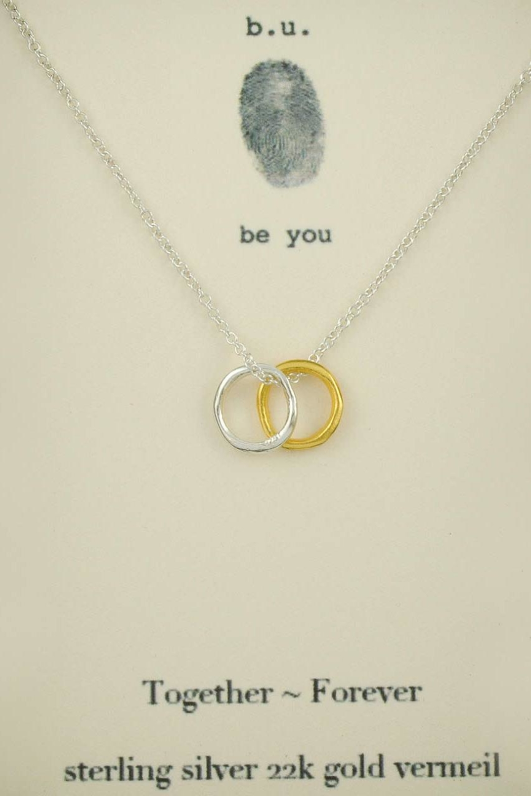 b.u. Jewelry Together Forever Necklace - Main Image