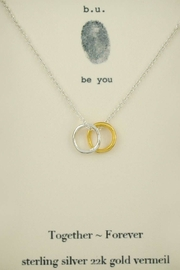 b.u. Jewelry Together Forever Necklace - Product Mini Image