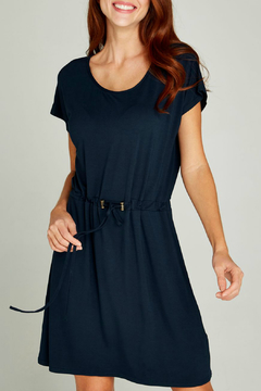 Apricot Toggle Waist Jersey Dress - Product List Image