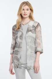 Nic + Zoe Toile Memory Cardigan - Front cropped