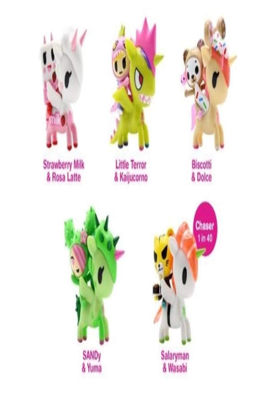 Tokidoki Unicorno And Friends - Front Full Image