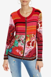 DESIGUAL Tokio Zip Sweater - Product Mini Image