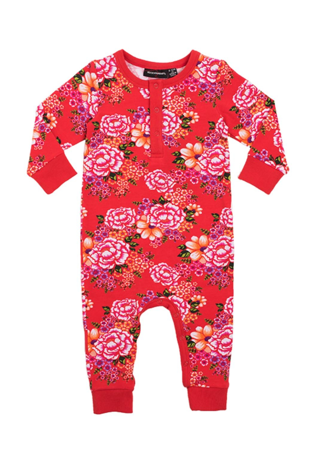 Rock Your Baby Tokyo Joe Playsuit - Front Cropped Image