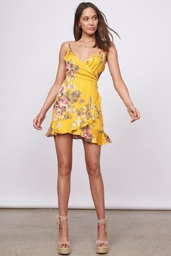 MINKPINK Tokyo Wrap Dress - Product List Image