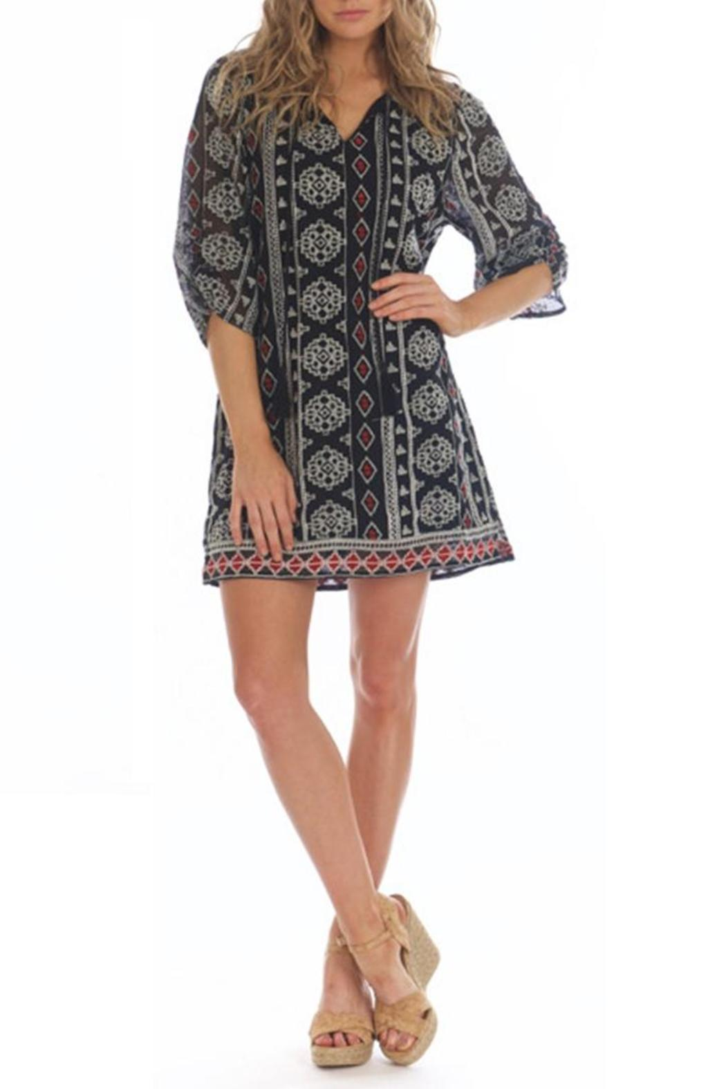 Tolani Adrianna Black Dress - Front Cropped Image