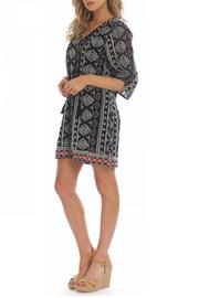 Tolani Adrianna Black Dress - Front full body