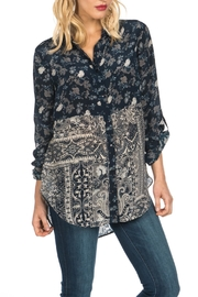 Tolani Evelyn Silk Blouse - Front cropped