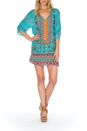 Tolani Evie Silk Tunic - Product Mini Image