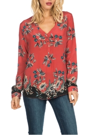 Tolani Geneva Silk Top - Front cropped
