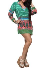 Shop Now: Green Tunic Dress. Featured at RMNOnline Fashion Group. (#RMNOnline)