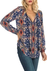 Tolani Janessa Silk Shirt - Product Mini Image
