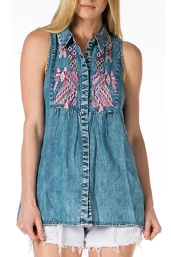 Tolani Kristy Sleeveless Shirt - Alternate List Image