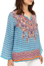 Tolani Mixed Print Blouse - Side cropped