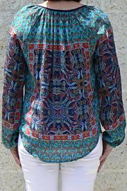 Tolani Paisley Silk Blouse - Side cropped