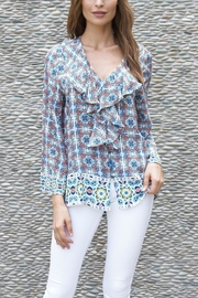 Tolani Pompei Top - Product Mini Image