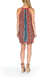 Tolani Savannah Silk Dress - Front full body