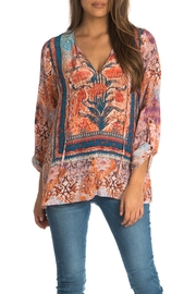 Tolani Virginia Peasant Style Blouse - Product Mini Image