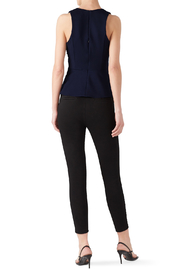 Adelyn Rae Tollie Knit Bow Top - Front full body