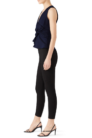Adelyn Rae Tollie Knit Bow Top - Side cropped