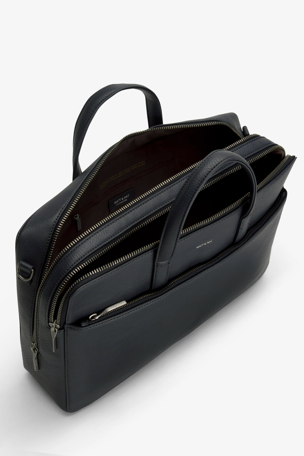Matt & Nat Tom Dwell Briefcase - Back Cropped Image