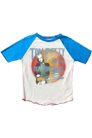 Rowdy Sprout Tom Petty Raglan - Front cropped