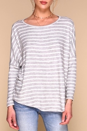Merritt Charles Tom Striped Sweater - Front cropped