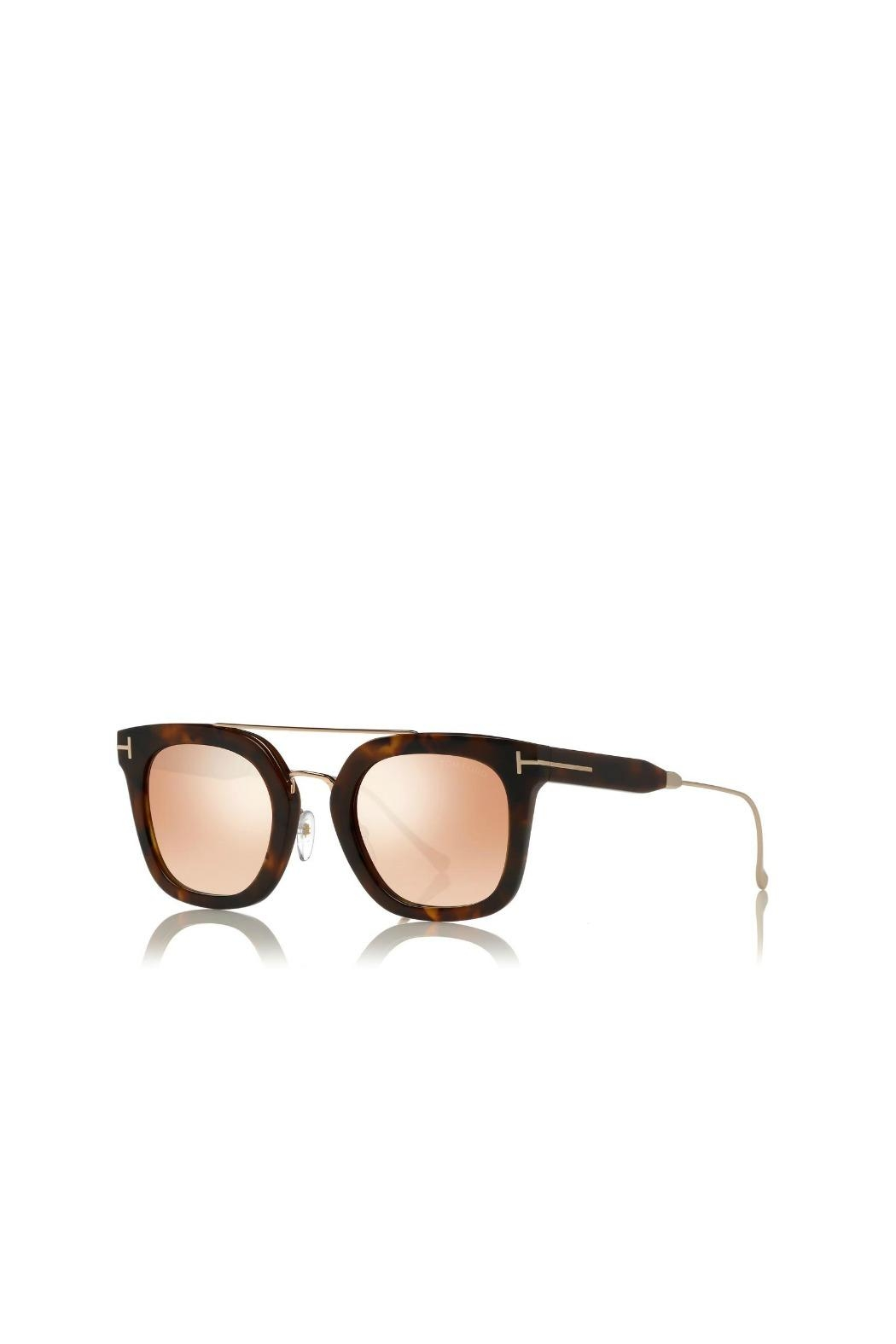 Tom Ford Alex Sunglasses - Front Full Image