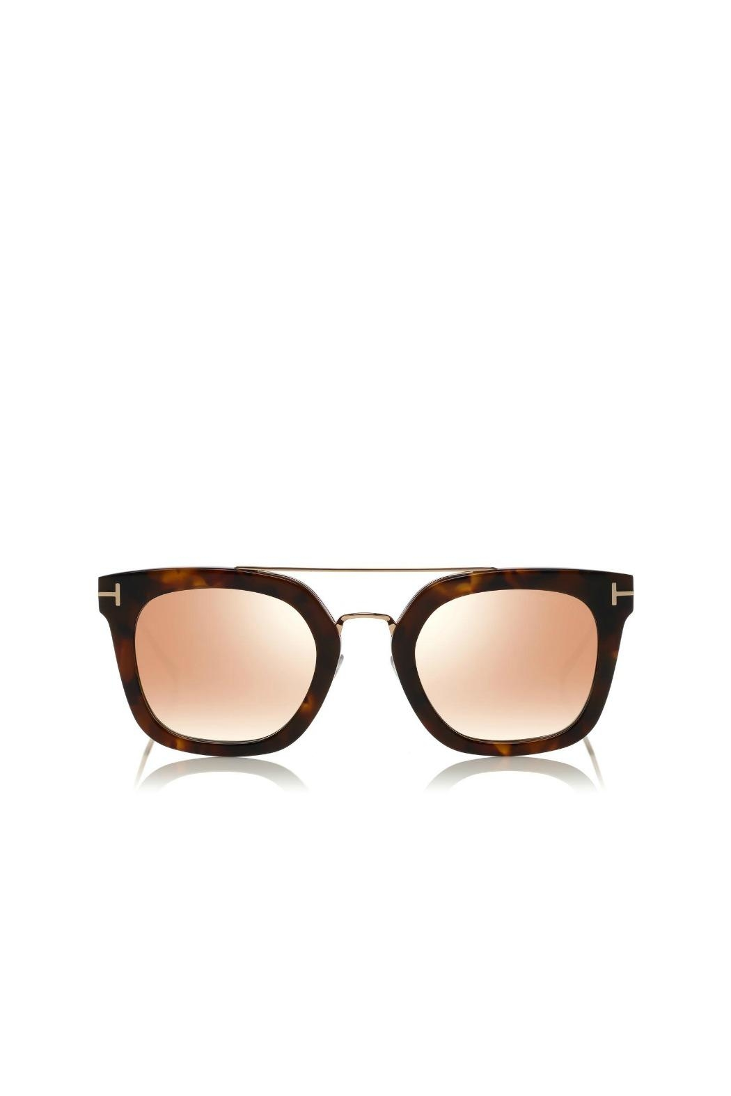 Tom Ford Alex Sunglasses - Front Cropped Image