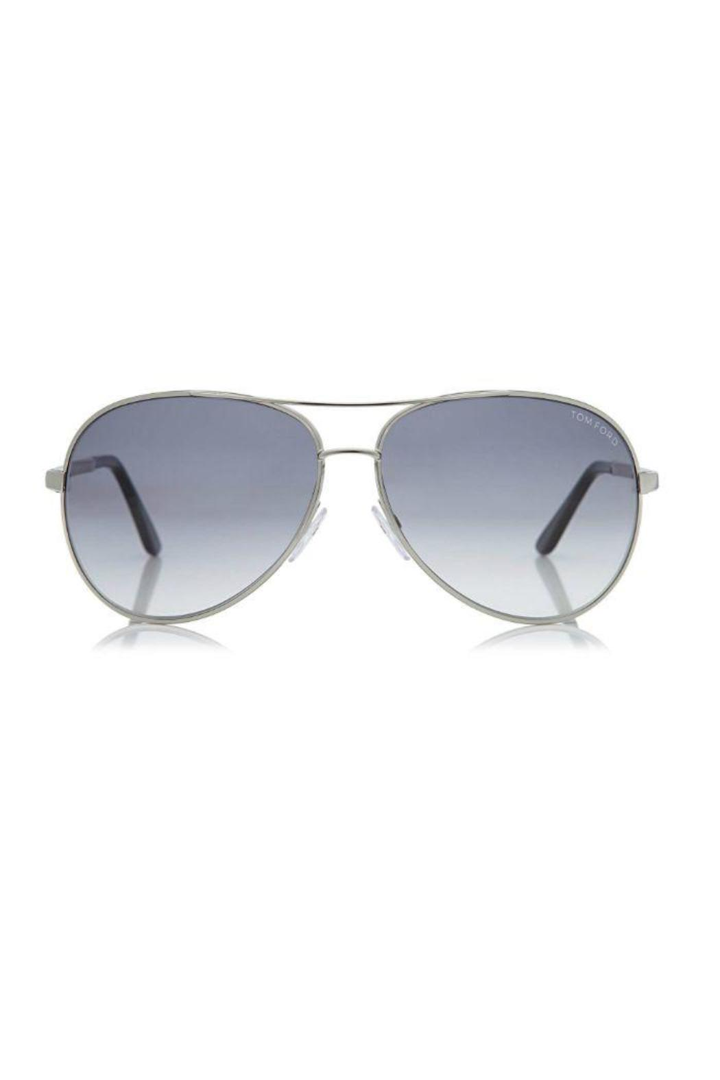 aebcec75d694 Tom Ford Charles Round-Aviator Sunglasses from Ohio by Peek of Chic ...