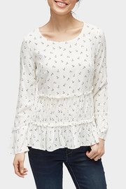 Tom Tailor Anchor Print Blouse - Product Mini Image