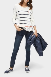 Tom Tailor Anchor Stripe Sweater - Side cropped