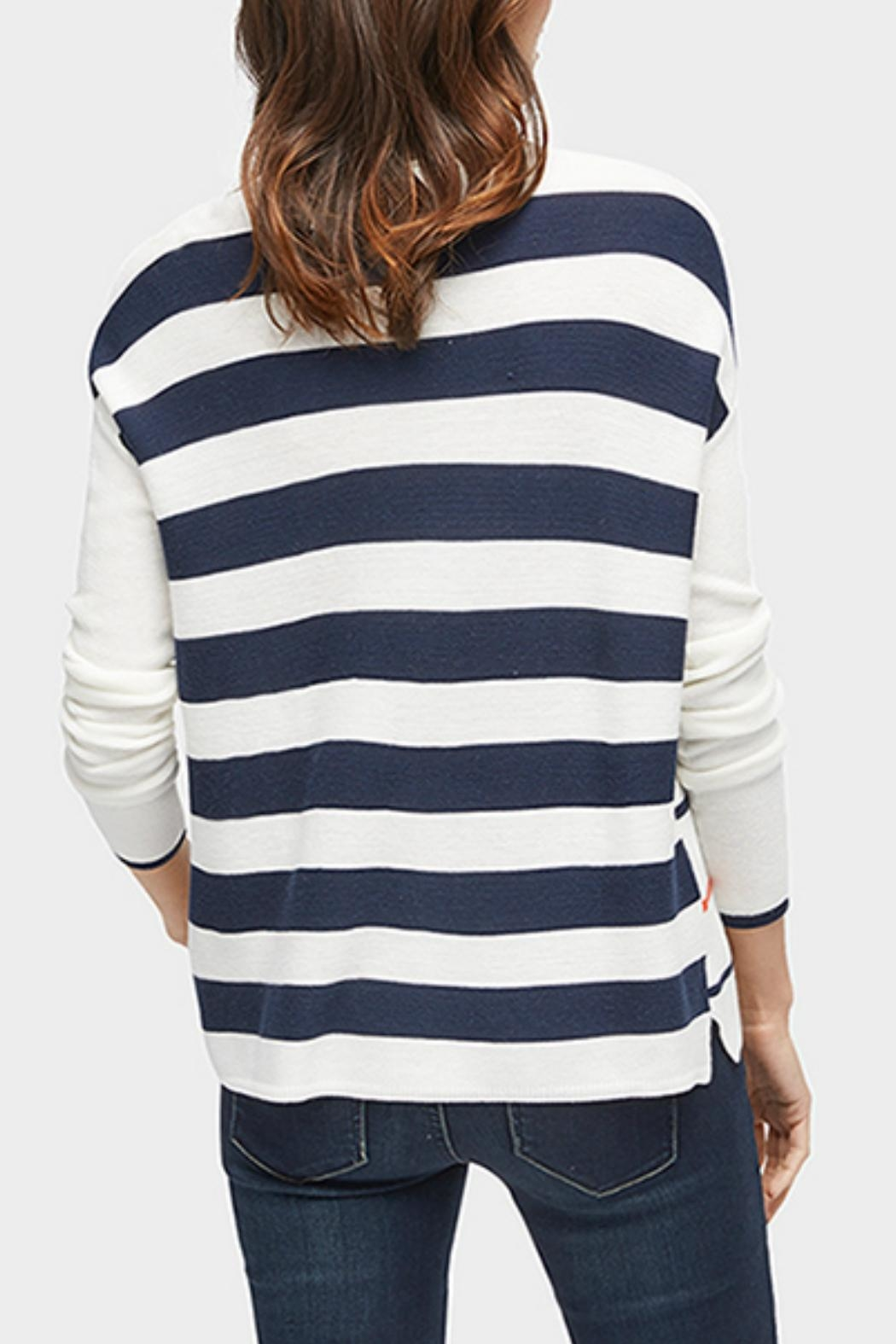 Tom Tailor Anchor Stripe Sweater - Front Full Image