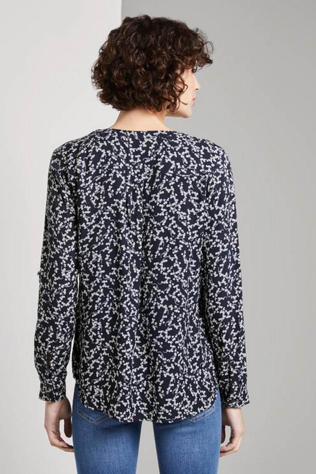 Tom Tailor Blouse With Flower Pattern - Front Full Image